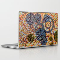 milan Laptop & iPad Skins featuring bombing Milan by Federico Cortese