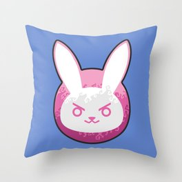 Love D.Va Throw Pillow
