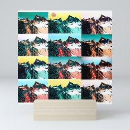 Mountain Ranges Mini Art Print