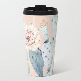 Desert Rose Cactus Pink Travel Mug