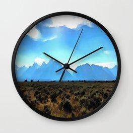 High Altitude Wall Clock