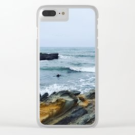 Break Water Clear iPhone Case