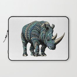 Rhinoceros (Color Version) Laptop Sleeve