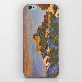 dawn at Belver castle, Portugal iPhone Skin