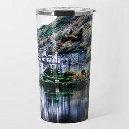 A Castle in Reflection Travel Mug