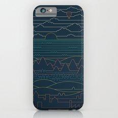 Linear Landscape iPhone 6s Slim Case