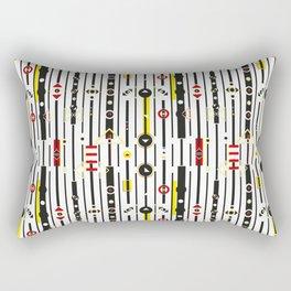 Punky retro graphic Rectangular Pillow