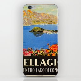Italy Bellagio Lake Como iPhone Skin