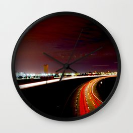 All the Way Home Wall Clock