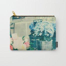 Paris flower shop Carry-All Pouch