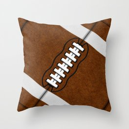 Fantasy Football Super Fan Touchdown Throw Pillow