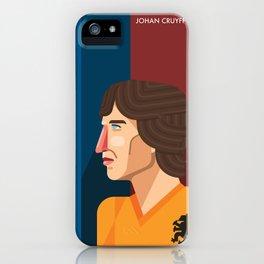 Johan Cruyff, The Godfather of Modern Football iPhone Case