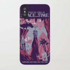 Space and Time iPhone X Slim Case