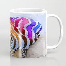Colorful Zebra Coffee Mug