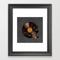 Autumn Song - colour option Framed Art Print