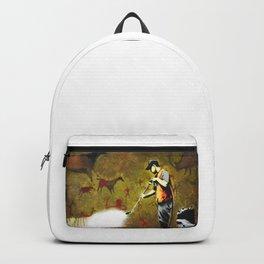 Banksy, Cave Paintings Backpack