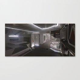 Sci-fi Interior Canvas Print