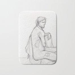 Figure Study (1) Bath Mat