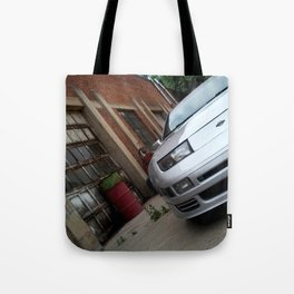 300zx Fairlady Z rustic Tote Bag