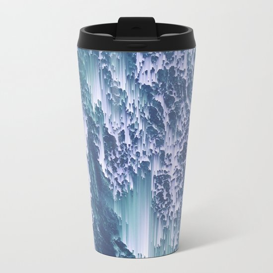 Comes and goes (in waves) Metal Travel Mug