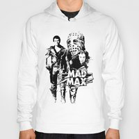 mad max Hoodies featuring Mad Max by leea1968
