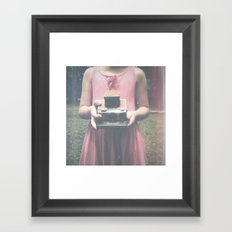 Dreams and Pictures Framed Art Print