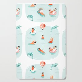 Poolside Cutting Board