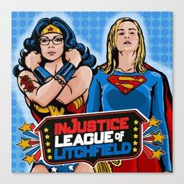 Justice  Canvas Print