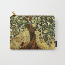 Twisted Oak Tree Carry-All Pouch