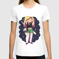 holographic T-shirts featuring The Alien Lady by Burgandy Balloons