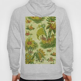 Chartreuse Chinoiserie Hoody
