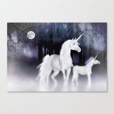 FANTASY - Unicorns Canvas Print