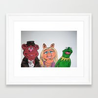 muppets Framed Art Prints featuring Muppets. by jaytay