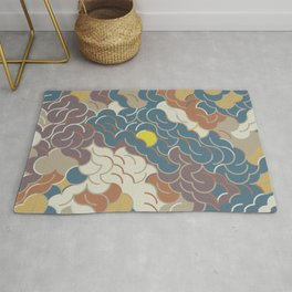Abstract Geometric Artwork 86 Rug