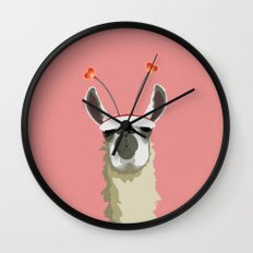 Llove You Wall Clock