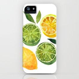Lemons & Limes iPhone Case