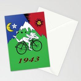 Bicycle Day 1943 Albert Hofmann LSD Stationery Cards