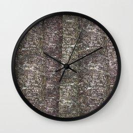 Up close and personal - tree mates Wall Clock