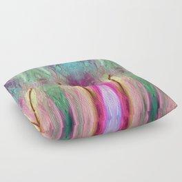 520 - Abstract colour design Floor Pillow