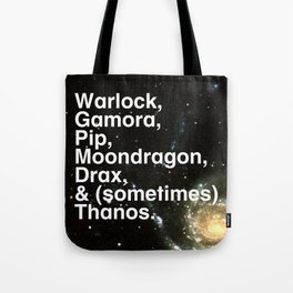 Tribute 3 - Infinity Watch Tote Bag