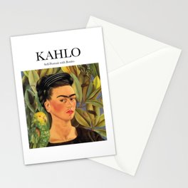 Kahlo - Self-Portrait with Bonito Stationery Cards