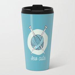 Sew Cute. Travel Mug