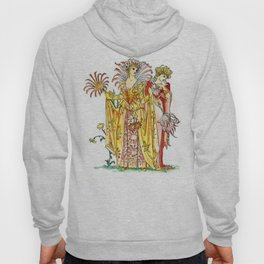 Vintage Tiger-Lily Lady Goddess Hoody