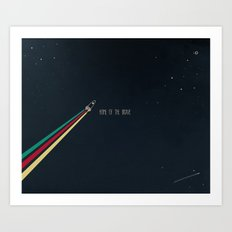 7. Home of the brave Art Print