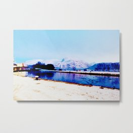 Corpach Sea loch, Highlands of Scotland Metal Print