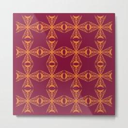 Luxury design mandalas creative art Metal Print