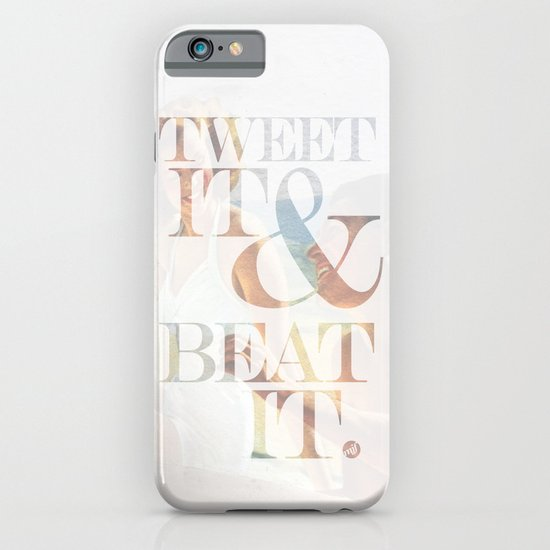 tweet it & beat it. iPhone & iPod Case