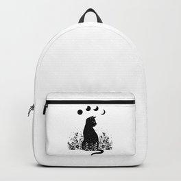 Night Garden Cat Backpack
