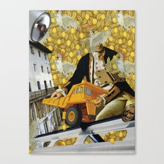 Cacatoé Trouble I Canvas Print