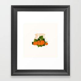 C13D Its Pumpkin Time Framed Art Print